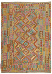 Kilim Afghan Old style carpet ABCO545