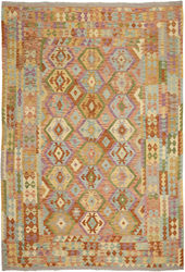 Kilim Afghan Old style carpet ABCO548