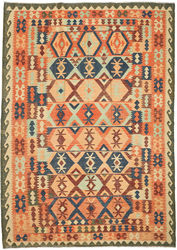 Kilim Afghan Old style carpet ABCO550