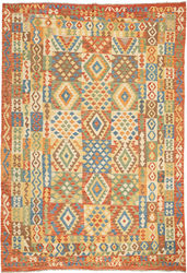 Alfombra Kilim Afghan Old style ABCO572