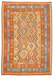 Kilim Afghan Old style carpet ABCO578