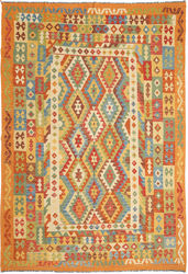 Alfombra Kilim Afghan Old style ABCO582