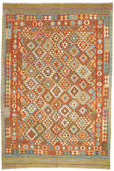 Alfombra Kilim Afghan Old style ABCO583
