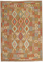 Kilim Afghan Old style carpet ABCO642