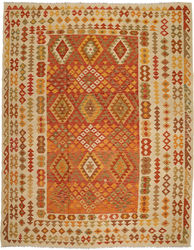 Kilim Afghan Old style carpet ABCO953