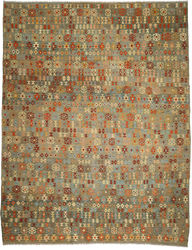 Kilim Afghan Old style carpet ABCO781