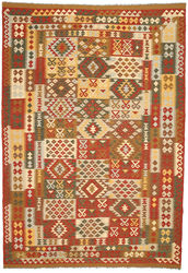 Kilim Afghan Old style carpet ABCO2824