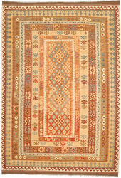 Kilim Afghan Old style carpet ABCO2822