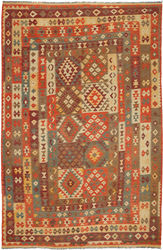 Kilim Afghan Old style carpet ABCO2821