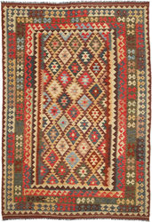 Alfombra Kilim Afghan Old style ABCO2815