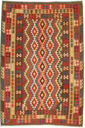 Kilim Afghan Old style carpet ABCO2802