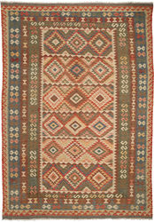 Kilim Afghan Old style carpet ABCO2800