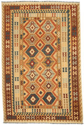 Kilim Afghan Old style carpet ABCO2793