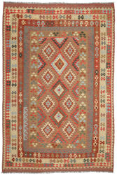 Kilim Afghan Old style carpet ABCO2781