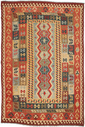 Kilim Afghan Old style carpet ABCO2771