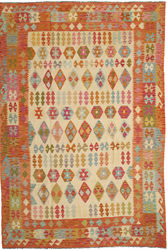 Alfombra Kilim Afghan Old style ABCO266