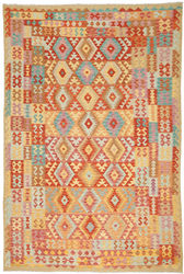 Kilim Afghan Old style carpet ABCO277