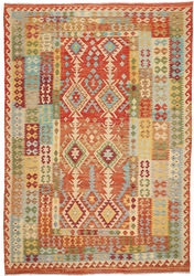 Kilim Afghan Old style carpet ABCO291