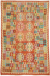 Alfombra Kilim Afghan Old style ABCO295
