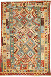 Kilim Afghan Old style carpet ABCO700