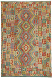Alfombra Kilim Afghan Old style ABCO706