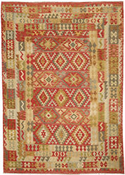 Kilim Afghan Old style carpet ABCO726