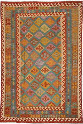 Alfombra Kilim Afghan Old style ABCO400
