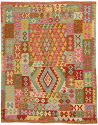 Kilim Afghan Old style carpet ABCO32