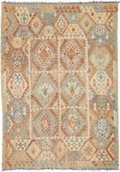 Kilim Afghan Old style carpet ABCO206