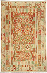 Kilim Afghan Old style carpet ABCO444