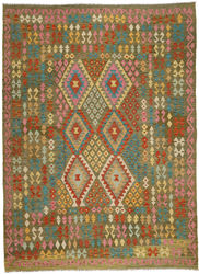 Kilim Afghan Old style carpet ABCO451