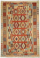 Kilim Afghan Old style carpet ABCO452