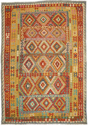 Kilim Afghan Old style carpet ABCO376