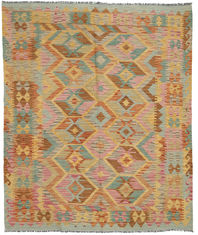 Kilim Afghan Old style carpet ABCO102