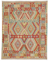 Kilim Afghan Old style carpet ABCO106