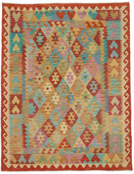 Kilim Afghan Old style carpet ABCO122