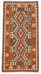 Kilim Afghan Old style carpet ABCO2897