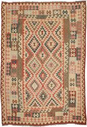Kilim Afghan Old style carpet ABCO1932