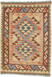Kilim Afghan Old style carpet ABCO1864