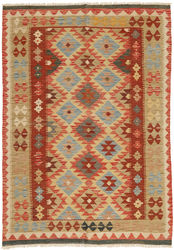 Kilim Afghan Old style carpet ABCO2113