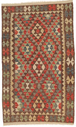 Kilim Afghan Old style carpet ABCO2146