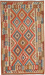 Kilim Afghan Old style carpet ABCO2000