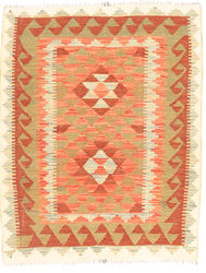 Kilim Afghan Old style carpet ABCO2420