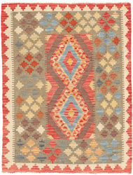 Kilim Afghan Old style carpet ABCO2405