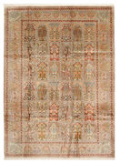 Kashmir pure silk carpet VAZZB6