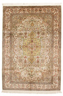 Kashmir pure silk carpet VAZZW1