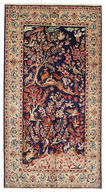Yazd Signed: Golkar carpet EXV304
