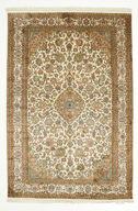 Kashmir pure silk carpet VEXG159
