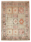 Kashmir pure silk carpet VEXG105