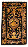 Qum silk signed: Vafai carpet VEXW6